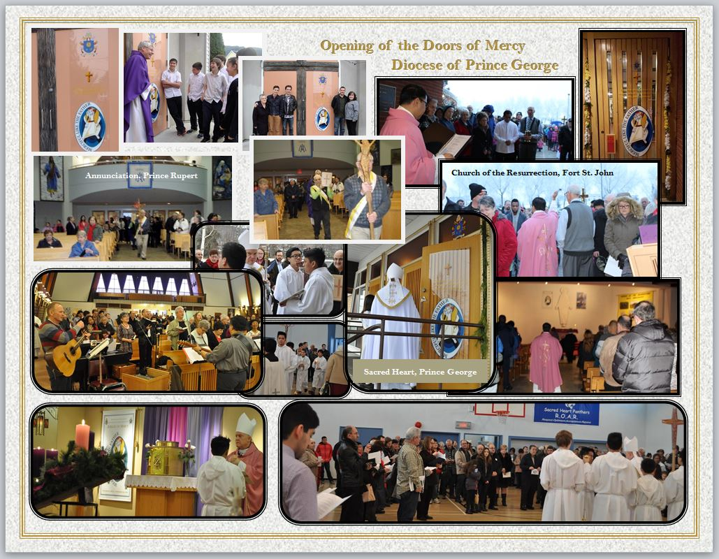 glimpse of the opening of the doors of mercy